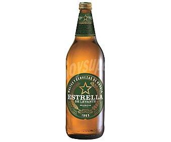 Estrella Levante Cerveza botella de 1 litro