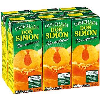 Don Simón Néctar melocotón bajo en calorías 6X200ml