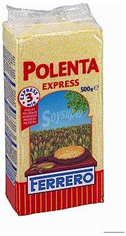 Ferrero Harina de maíz para polenta Express precocida Paquete 500 g