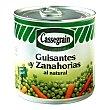 Guisantes y zanahorias natural 265 g Cassegrain