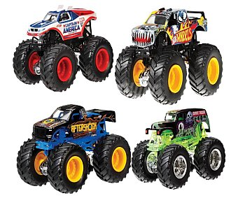 Hot Wheels Surtido de camiones Monster Jam wheels