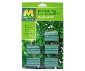 MASSÓN Garden Fertilizante forma bastoncitos, plantas verdes 45 Gramos