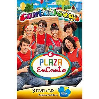 CANTAJUEGO Plaza Encanto, incluye 3 DVD + CD