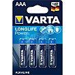 High energy pila alcalina AAA LR3  blíster 4 uds Varta
