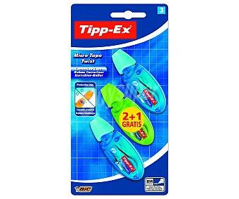 Tipp-Ex Corrector Cinta Micro Tape Twist 3 ud