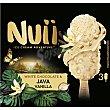 Helado de chocolate blanco y vainilla de Java 3 unidades sin gluten Estuche 270 ml Nuii