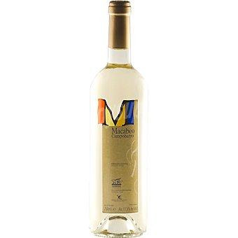 Campobarro Vino blanco macabeo Extremadura Botella 75 cl