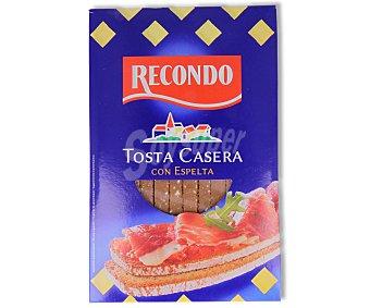Recondo Tosta casera con espelta 250 gramos