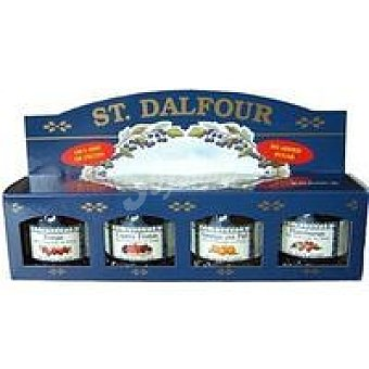 St. Dalfour Rapsodia de frutas varias Pack 4x28 g