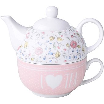 Unit Flowers tetera Tea For One color lila