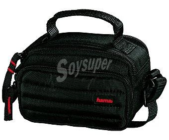 HAMA SYSCASE 90 Estuche para cámaras de vídeo con compartimentos para accesorios, negro