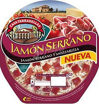 Casa Tarradellas Pizza jamon serrano 410 GRS