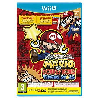 Wii U Videojuego Mario Vs Donkey Kong: Tipping Stars  1 Unidad