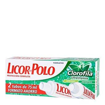 Licor del Polo Gel dental Frescor Natural Pack 2x75 ml