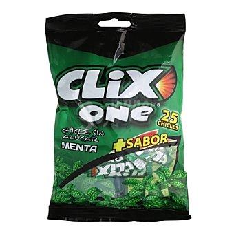 Clix Chicles one menta bolsa 25 uds 25 ud