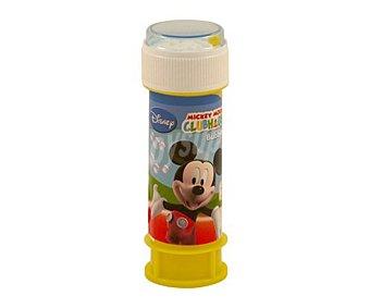 Disney Tubo pompero Mickey Mouse para hacer burbujas, 60 mililitros de capacidad 1 unidad