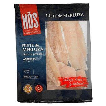 NOS Filete de merluza sin piel Envase 350 gr