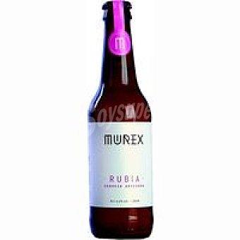 MUREX Cerveza artesana Rubia Botellín 33 cl