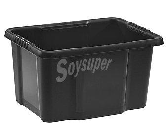 ESSENTIAL Caja de ordenación color negra, capacidad de essential 16 litros