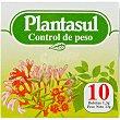 Infusion para el control de peso  envase 10 unidades Plantasul
