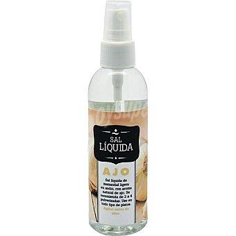 SAL FOSSIL sal líquida ligera en sodio con aroma natural de ajo Envase 100 ml