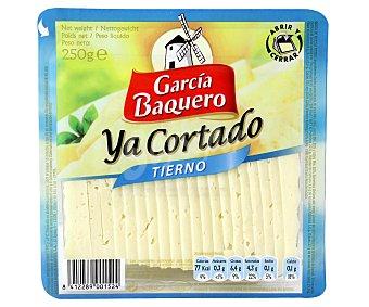 García Baquero Queso Tierno Ya Cortado Cuña 250 Gramos