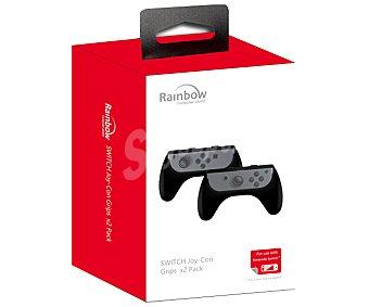 Rainbow Grips para Joy-Con en color negro para Nintendo Switch Pack de 2