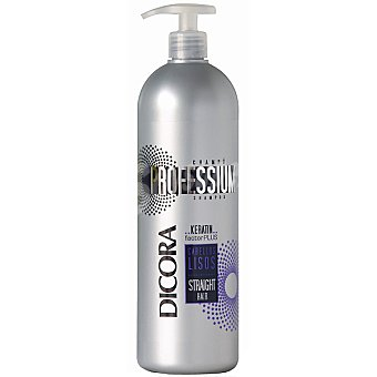 DICORA Professium champú cabellos lisos dosificador  1000 ml