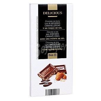 DIA Delicious Delicious chocolate con leche y almendras caramelizadas con sal 200 gr