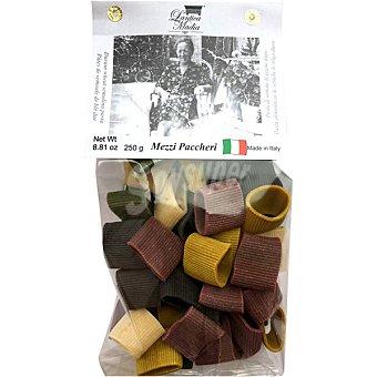 Lantica madia Mezzi paccheri 5 colores  paquete 250 g