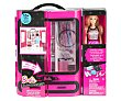 Muñeca Fashionista con su armario lleno de acesorios y complementos, barbie  Barbie