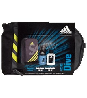 Adidas Estuche Colonia Spray 100ml. + Body Spray 150ml. + Neceser Ice Dive 1 ud