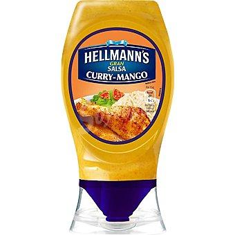 Hellmann's Salsa curry mango Envase 250 ml