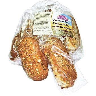 SAN DIEGO Panecillos multicereal de harina integral de trigo y semillas  8x2 unidades en bolsa