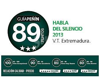 HABLA DEL SILENCIO Vino tinto de Extremadura Botella 75 cl