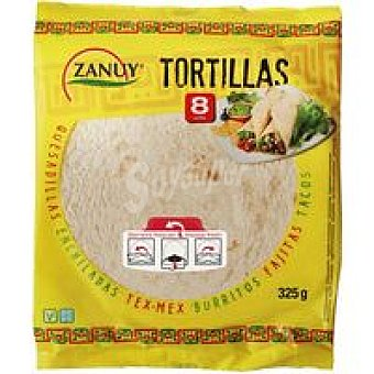 Zanuy Tortilla de trigo Paquete 315 g