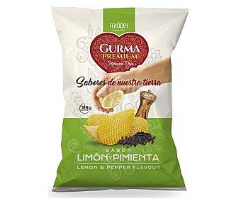 Fritoper Patatas fritas sabor limón y pimienta Gurma 110 gramos