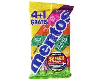 MENTOS Caramelos Rainbow 5 Unidades de 37,5 Gramos