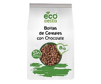 Ecocesta Bolitas de cereales con chocolate bio Bolsa de 400 g