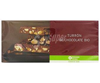 Intermón Oxfam Turrón de chocolate ecológico 200 gramos