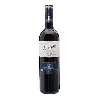 Beronia Vino tinto reserva D.O. Rioja Botella 75 cl