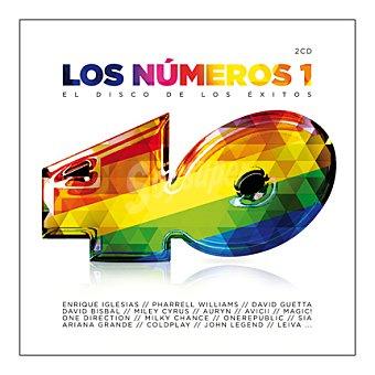 """40 Principales """"los número 1"""" (varios artistas) 2 CD 1 ud"""