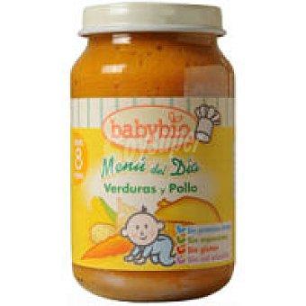 BabyBio Potito de verduras-pollo 200 g