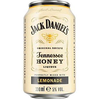 Jack Daniel's Tennesse Honey Lemonade cocktail listo para tomar Lata 33 cl