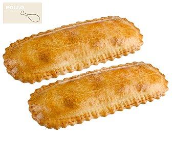 Empanadillas de pollo 2 unidades