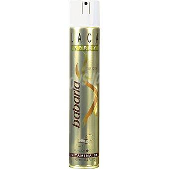 Babaria Laca Oro fijación fuerte spray 400 ml Spray 400 ml