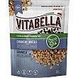 Organic Bio Crunchy Muesli granolas ecológicas con chocolate negro Paquete 240 g Vitabella
