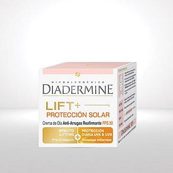 Diadermine Lift+protección solar crema de día antiarrugas FPS 30  tarro 50 ml