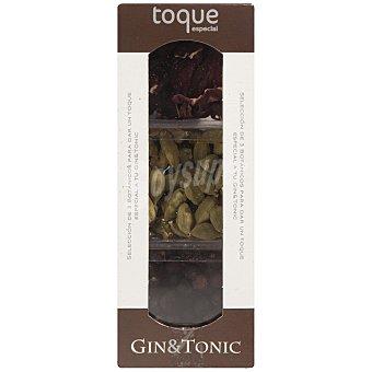 Gin&Tonic Estuche de selección de tres especias para aderezar gin tonic Frasco 35 g