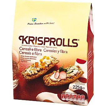 KRISPROLLS Panecillos suecos de cereales y fibra paquete 225 g